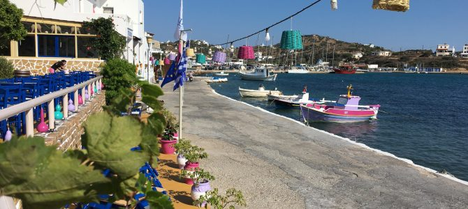 Lipsi Harbour